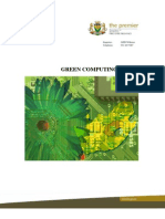 Green Computing Aka Green IT