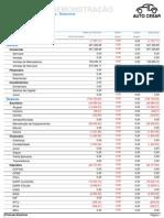 Lançamentos por Plano de Conta - Balancete