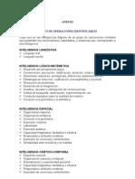 Evaluacion de Las Inteligencias Multiples Instrumentos