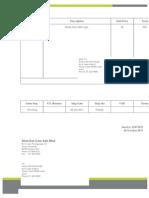 Supplier Invoice