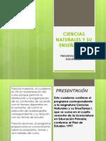 CIENCIAS NATURALES Y SU ENSEÑANZA. expo.pptx