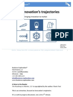 The 4 innovation's trajectories