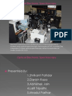 Optical Electronic Spectroscopy