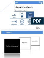 10 Resistances to Change & other tools