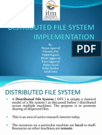 Distributed File System Implementation(1)