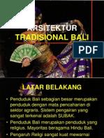 Arsitektur Tradisional Bali