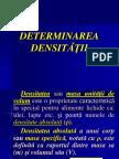 Densitatea
