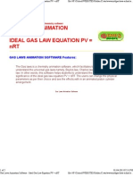 Gas Laws Animation Software - Ideal Gas Law Equation 2.PDF