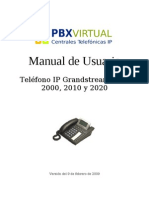 Manual GXP2000