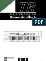 KORG TR Referenzhandbuch