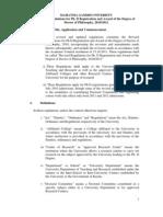 PhD Regulations- 2012 - Revised