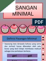 Pasangan Minimal Powerpoint