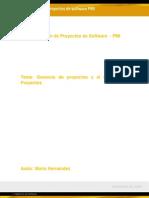Gerencia de Proyectos y El Gerente de Proyectos