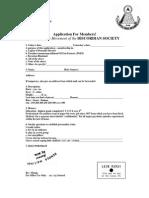 Application for DISCORDIAN SOCIETY Membership