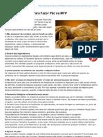 Receitasmfp.com-10 Dicas Preciosas Para Fazer Po Na MFP