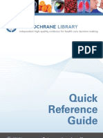 cochrane library guide