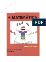CADERNO +MATEMÁTICA Volume 2