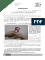 05/03/13 Germán Tenorio Vasconcelos incrementa Uso de Preservativos en Adolescentes y Reducen Its