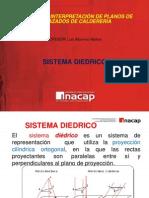 Sistema de Representación Diedrica ISO - E y ANSI