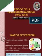 PERIODO DE LA REVOLUCIÓN NACIONAL (1952-1964).pptx