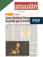 48405331 Critique l Humanite Leon Gontran Damas a Franchi La Ligne