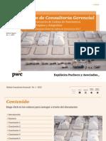Consultoría Gerencial - Boletín 1 - Próxima Generación de Cadena de Suministros Eficientes, Rápidas y Adaptables
