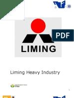 Liming Heavy Industry..Trabajo Para OP