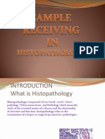 Receiving Sample in Histo Lecture New