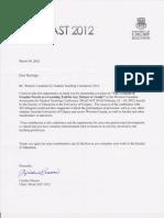 westcast letter