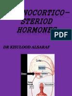 Adrenocortico Steriod Hormones