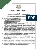 GP 05 - PROF DE EDUC. BASICA II - LIC PLENA EM MATEMÁTICA282