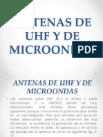 Antenas de Uhf