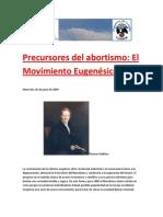 Precursores del abortismo- El Movimiento Eugenésico.docx