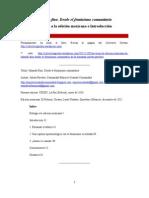 Hilando fino - Prólogo e Introducción (edición mexicana, 2012)