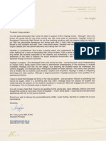 tracy lyons reference letter