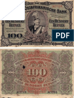 Old East Africa Currency