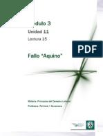 Lectura 25 - Fallo Aquino