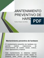 Mantenimiento Preventivo Hardware
