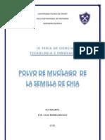POLVO DE MUCÍLAGO DE LA SEMILLA DE CHIA FERIA