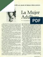 La mujer adultera, Decamerón. Caballero Abril 1966.