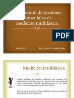 Compendio de nociones elementales de medición multifásica