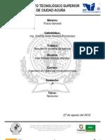 Sistema de Fuerzas Concurrentes y Coplanares Final