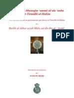 72798551 Ibn Arabi Jawab Mustaqim Amma Sa Ala Anhu at Tirmidhi Al Hakim Fr Slimane Rezki (1)
