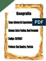Reporte de Exposicion Tierra y Agua