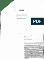 O QUE É UM AUTOR, FOUCAULT.pdf