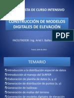 MODELOS DIGITALES DE ELEVACIÓN UATF FAC AGRO.pptx