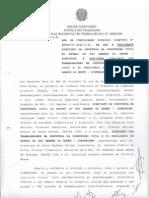 ATA DE CONCILIAÇÃO DISSIDIO COLETIVO