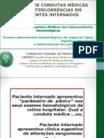 Exames laboratoriais hematológicos d eurgência  tipos, logística e interpretação dos testes