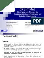 JKSimMet Simulador de Plantas de Procesamiento de Minerales en Estado Estacionario