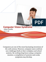 Computer Vision Syndrome PPT